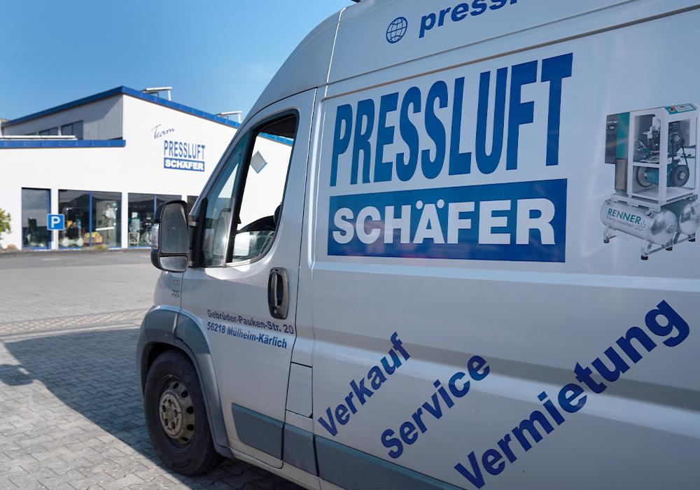 Servicewagen Team Pressluft Schäfer