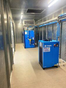 Schulz Farben Containergroßprojekt 4 Container mit Stahlgewerk 3