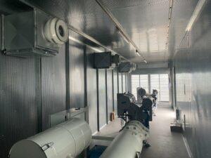 Schulz Farben Containergroßprojekt 4 Container mit Stahlgewerk 4